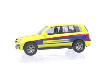 "Busch 49750-114 Mercedes-Benz GLK ""Notarzt"" Schweizer Sonderserie HO"