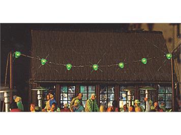 Busch 5406 Lichterkette grün HO
