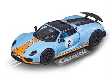 "Carrera 20030788 D132 Porsche 918 Spyder No. 02 ""Gulf Racing"""
