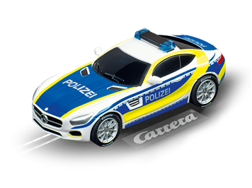 Carrera 20064118 GO!!! Mercedes AMG GT Coupe Polizei