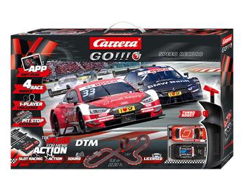 Carrera 20066009 Go!!! Plus Startpackung DTM Speed Record, 6.8m