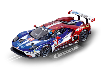 "Carrera D124 20023875 Ford GT Race Car ""No.67"""