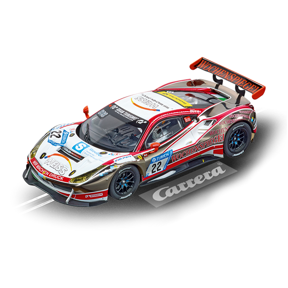"Carrera D132 20030868 Ferrari 488 GT3 ""WTM Racing, No.22"""