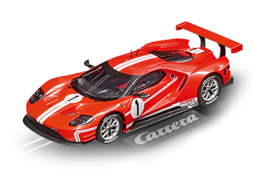 "Carrera D132 20030873 Ford GT Race Car ""Time Twist, No.1"""