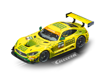 Carrera D132 20030910 D32 Mercedes-AMG GT3,No.47 MANN-Filter Team HTP