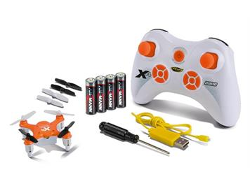 Carson 500507081 X4 Quadrocopter NANO 100 % RTF orange, 2,4 GHz