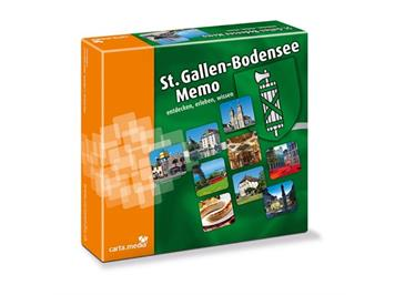 "Carta.Media 7106 Memory ""St. Gallen - Bodensee"""