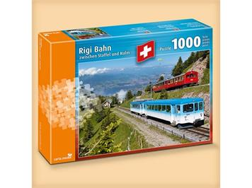 "Carta.Media 7213 Puzzle ""Rigi Bahn"" 1000tlg."