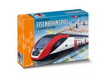 Carta.Media 7356 Schweizer Eisenbahn Spiel