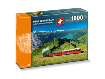 Carta.Media Puzzle 7209 Brienz Rothorn Bahn (1000 Teile)