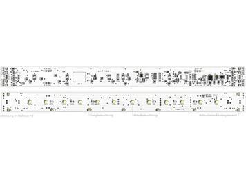 E-Modell Innenbeleuchtung LX-R mit Poti, warmweiss für Roco 30,3 cm HO-Wagen