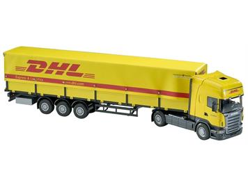 Emek 80510 Scania Topline canvas-sided semitr. DHL