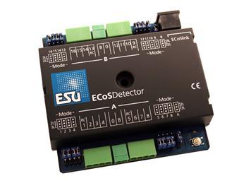 ESU 50094 ECoSDetector Rückmeldemodul, 16 Digitale Inputs, davon 4 RailCom Rückmelder