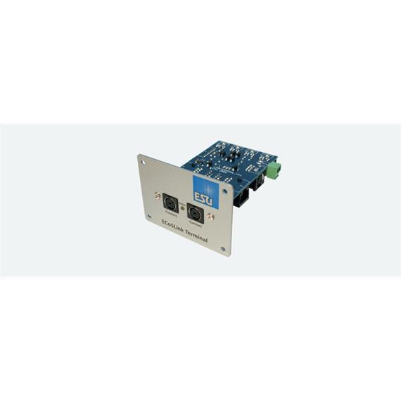 ESU 50099 ECoSlink Terminal Verteilermodul für Ecos CS1, CS2