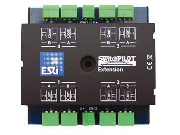 ESU 51801 SwitchPilot Extension, 4xRelaisausgang, für Switch Pilot V1.0