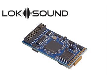 """ESU 58449 LokSound 5 DCC/MM/SX/M4 """"Leerdecoder"""", 21mtc mit Lautsprecher 11x15mm"""
