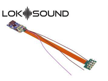 "ESU 58810 LokSound 5 micro DCC/MM/SX/M4 ""Leerdecoder"", 8-pin NEM652, Lautsprecher 11x15 mm"