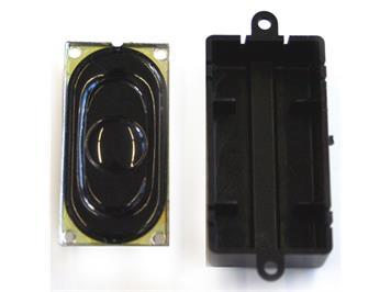 ESU Lautsprecher 20 x 40 mm, rechteckig, 100 Ohm, mit Schallkapsel