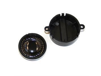 ESU Lautsprecher 23 mm, rund, 100 OPhm, mit Schallkapsel