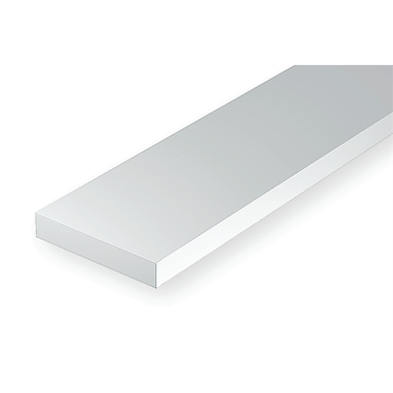 Evergreen 8106 Maßstab 1:87: Leisten, 350x0,3x1,7 mm, 10 Stück