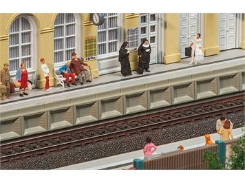 Faller 120100 Moderner Bahnsteig für C-Gleis HO