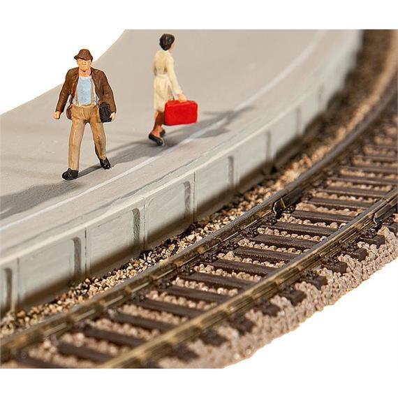 Faller 120205 flexible Bahnsteigkanten HO