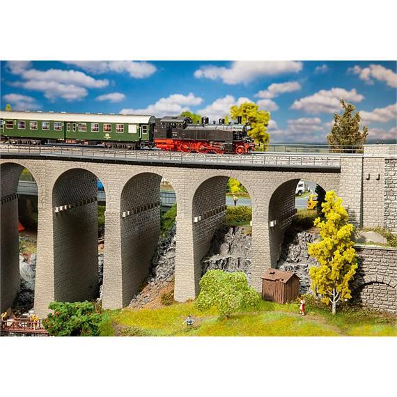 Faller 120465 Viadukt-Set 2-gleisig HO