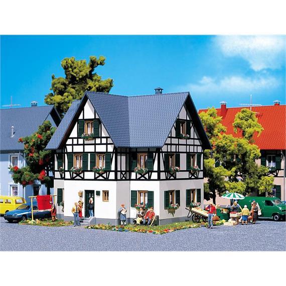 Faller 130259 Fachwerk Zweifamilienhaus