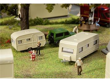 Faller 140483 Wohnwagen-Set HO