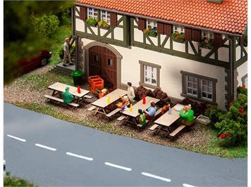 Faller 180304 4 Picknickbänke