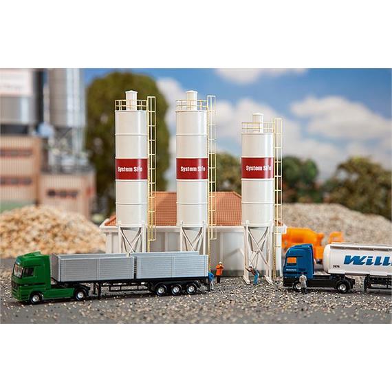 Faller 222207 3 Industrielilos N