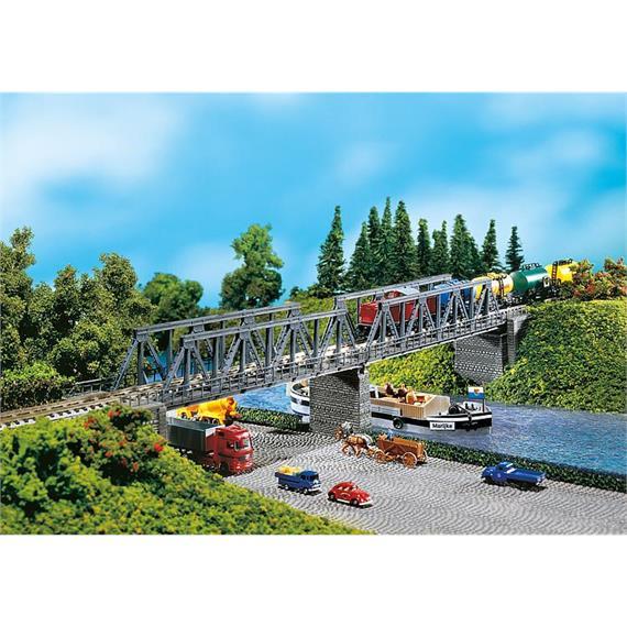 Faller 222578 2 Kastenbrücken mit Brückenköpfen N