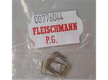 Fleischmann 00776044 Drahtbrücke für H0-Weichen, 10 Stück