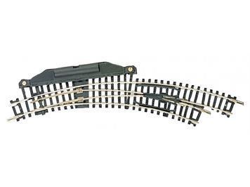 Fleischmann 22275 elektrische Bogenweiche rechts R1/R2 N