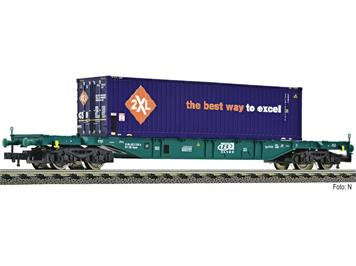 Fleischmann 524109 Containertragwagen SNCB