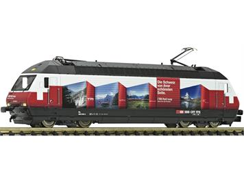 "Fleischmann 731396 Elektrolokomotive Re 460 048-2 ""RailAway"" SBB DCC/Sound"