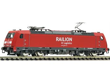 "Fleischmann 738872 Elektrolokomotive BR 185.2 ""Railion"" DB AG DCC/Sound"