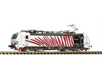 """Fleischmann 739354 E-Lok 193 776-2, Lokomotion im """"Zebra""""-Design, digital mit Sound, N"""