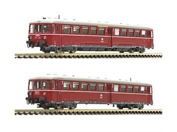 Fleischmann 740170 Akkutriebwagen BR 515 mit Steuerwagen, DB, N
