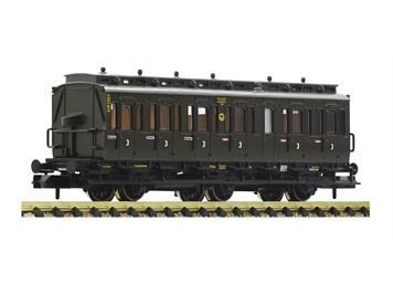 Fleischmann 807006 3-achsiger Abteilwagen 3. Klasse, DRG