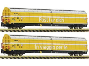 Fleischmann 838312 2 tlg. Set Großraum-Schiebewandwagen, SBB, N