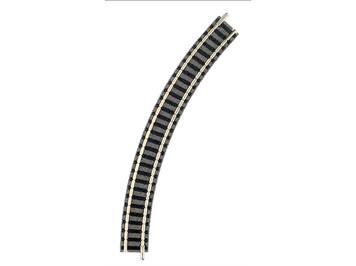 Fleischmann gebogenes Gleis R1, 45°