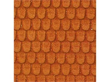 HEKI 72312 Dachziegel HEKI dur 40 x 20 cm 2 Stk. O/1/HO