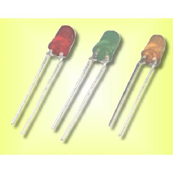 Herkat 2757 LED grün, 3mm