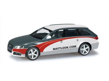"Herpa 027601 Audi A4 Avant ""SignalReklame/mattlook.com"""