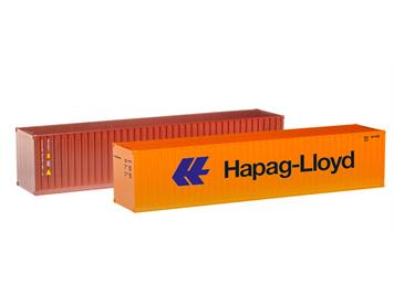 """Herpa 076449-002 40 ft. Container-Set """"Hapag Lloyd / TAL"""""""
