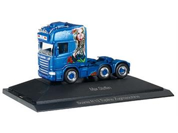 "Herpa 110884 Scania R TL 6x2 Zugmaschine ""Max Steffen"" HO CH"