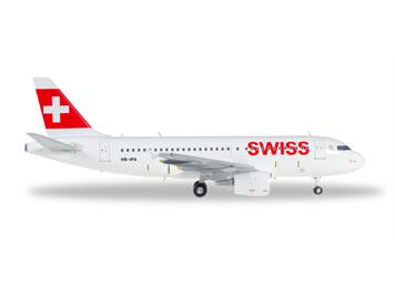"Herpa 558020 Swiss International Air Lines Airbus A319 ""Mont Racine"" 1:200"