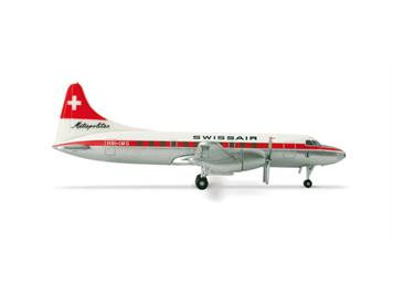 Herpa Wings Convair CV-440 Swissair