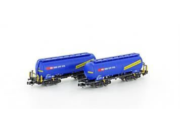 Hobbytrain 23485 Silowagen Uacs SBB Cargo (2) N